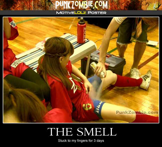 Smell Demotovational Poster