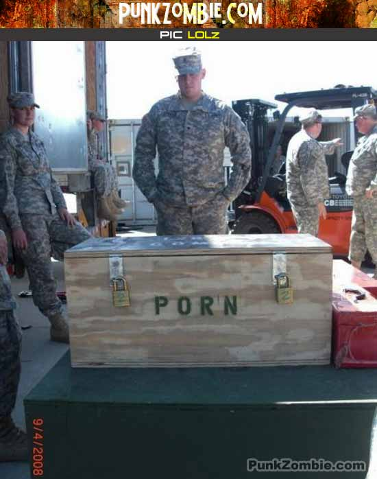 military delivery