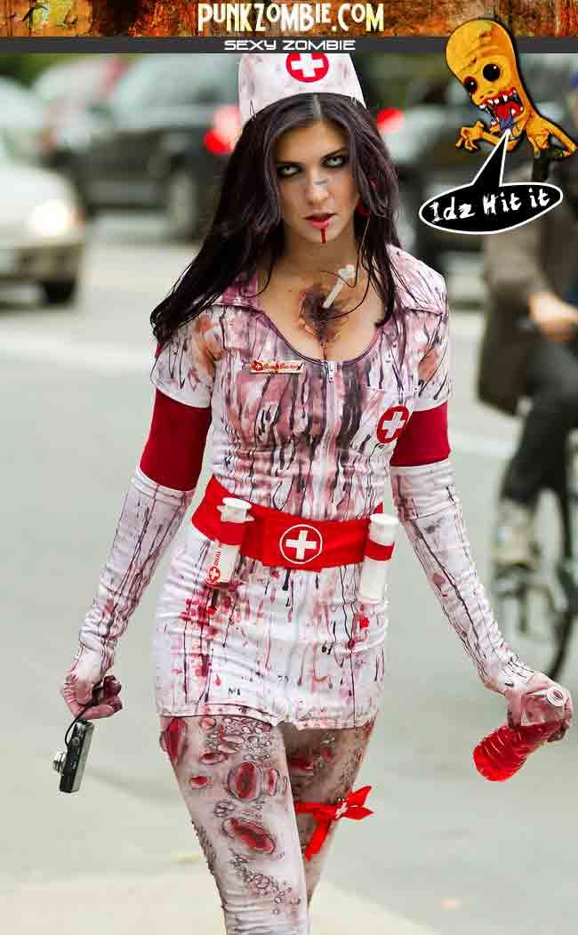 sexy zombie