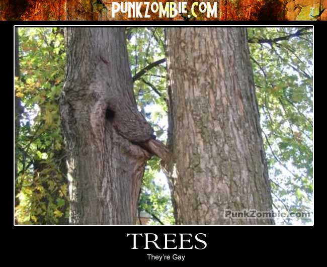 trees demotivational poster